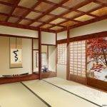 Japanese House Minimalist Interior Design Wooden Style Home