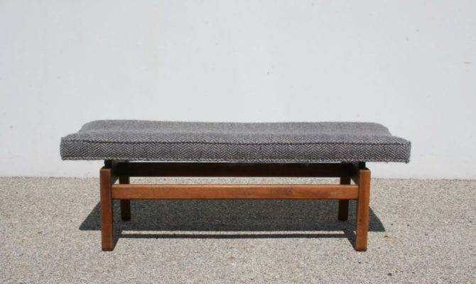 Jens Risom Floating Bench Stdibs