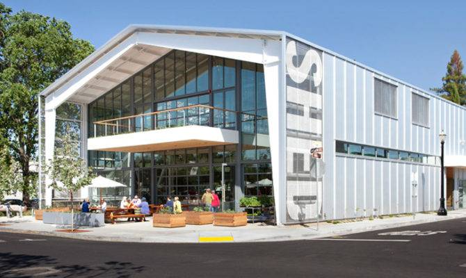 Jensen Architects Green Shed Takes Modern Grange Ideals