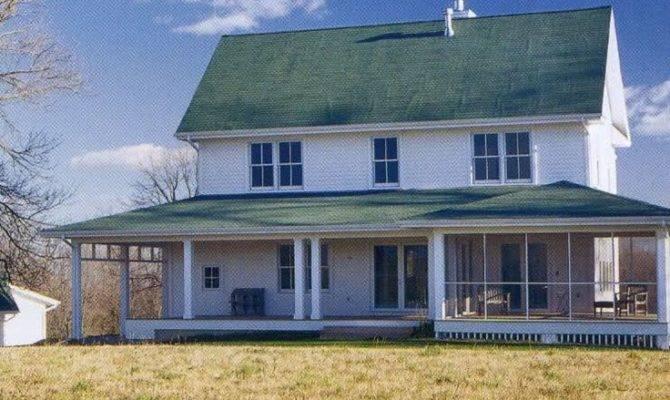 Jeremiah Eck Architect New Farmhouse Exterior