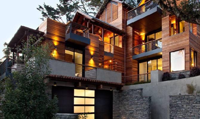 Jetson Green Marin Gets Platinum Hillside House