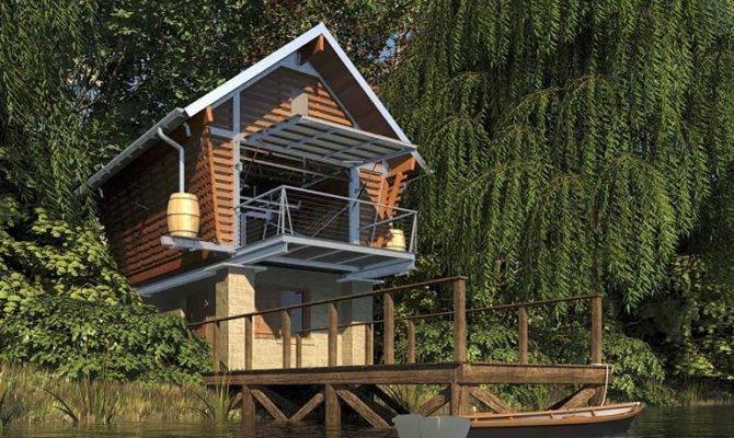 Jetson Green Tiny Eco Friendly Prefab Called Crib House Plans
