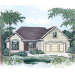 Jpeg Rodgers Forge Ranch Home Plan House Plans More
