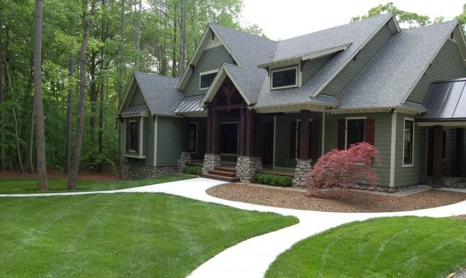 June Modern Craftsman Style Home