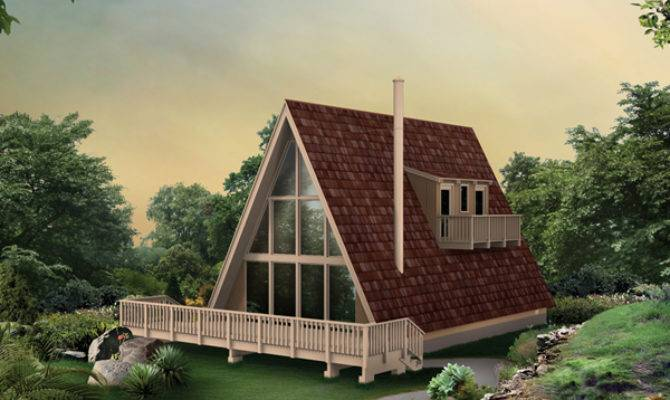 Juneau Frame Vacation Home Plan House Plans
