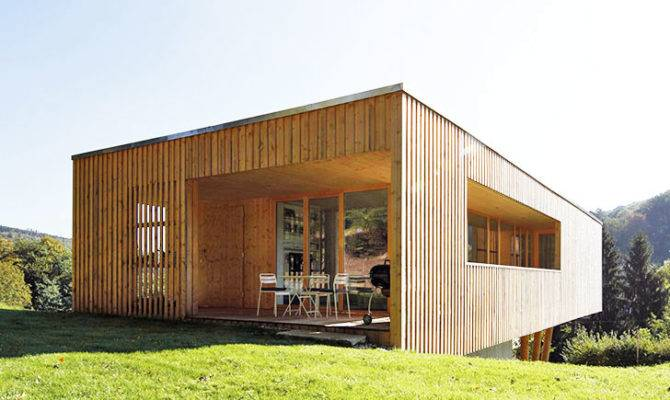 Juri Troy Architects Passive House Under Oaks