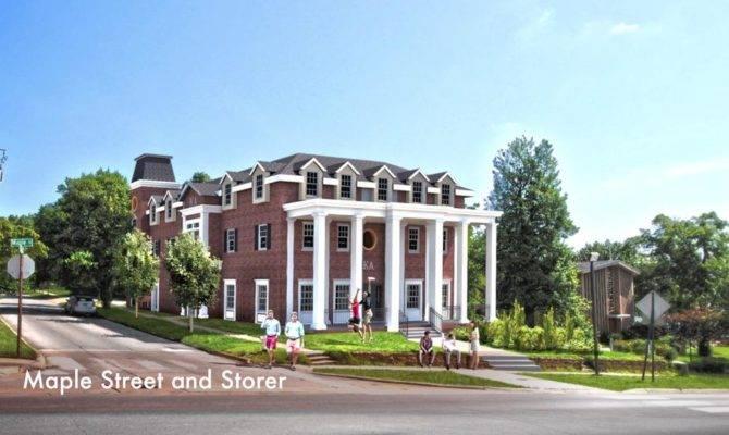 Kappa Alpha Order Arkansas Build New Chapter House
