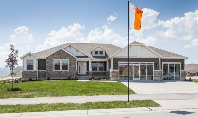 Katrina Rambler House Plan Utah Home Edge Homes