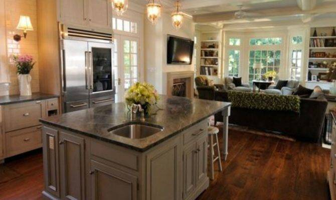 Keeping Room Off Kitchen Home Design Ideas