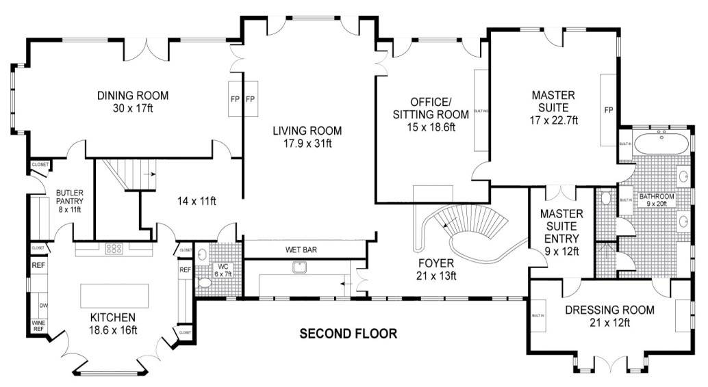 Kennedy Compound Floor Plan Pixshark House Plans 178984