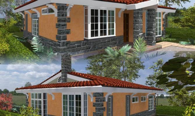 Kenyan House Designs Architect Design Three Bedroom
