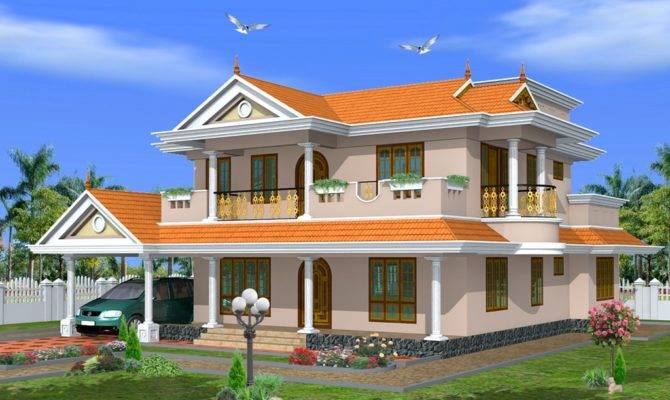 Kerala Home Design Traditional Style