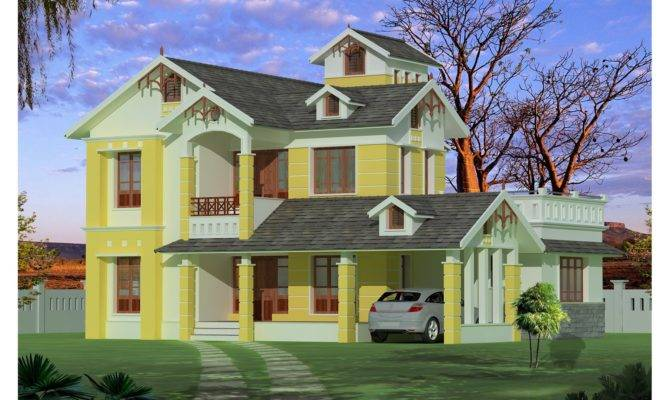 Kerala Home Plan Small House Elevation