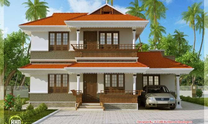 Kerala Model Home Plan Feet