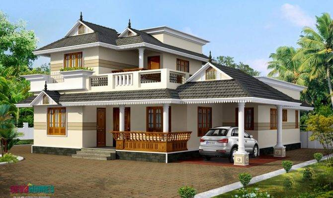Kerala Model Home Plans Style