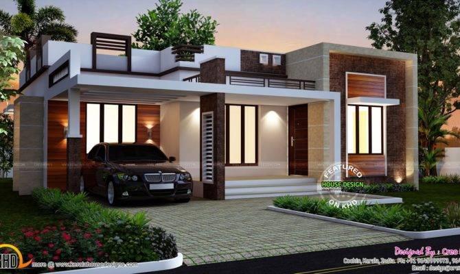Kerala Single Floor House Plans New Beautiful Small
