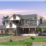 Kerala Style Dream Home Elevations Design