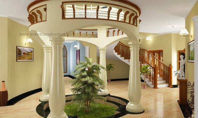 Kerala Style House Plans Courtyard