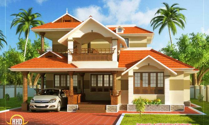 Kerala Style Traditional House