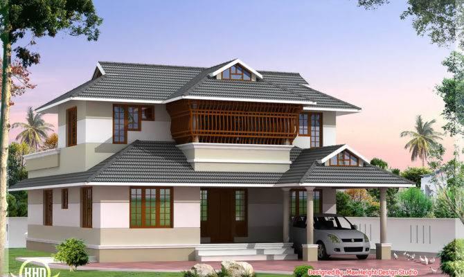 Kerala Style Villa Architecture House