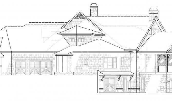 Kettle Lodge House Plans Home Archival Designs