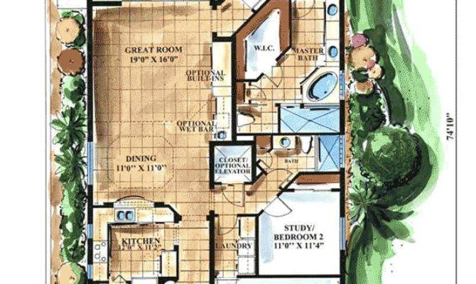 Key West Style Floor Master Suite Cad