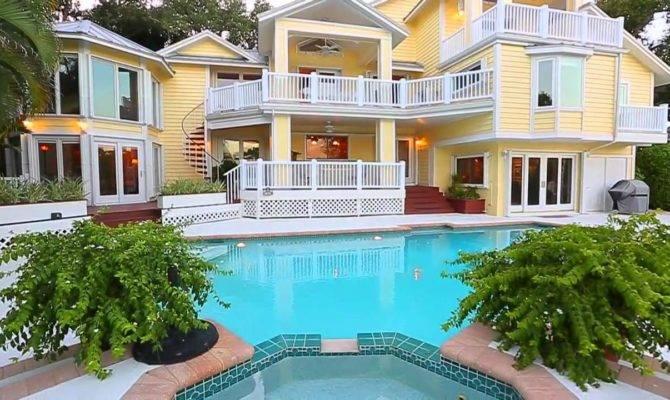 Key West Style Home Siesta Florida Youtube