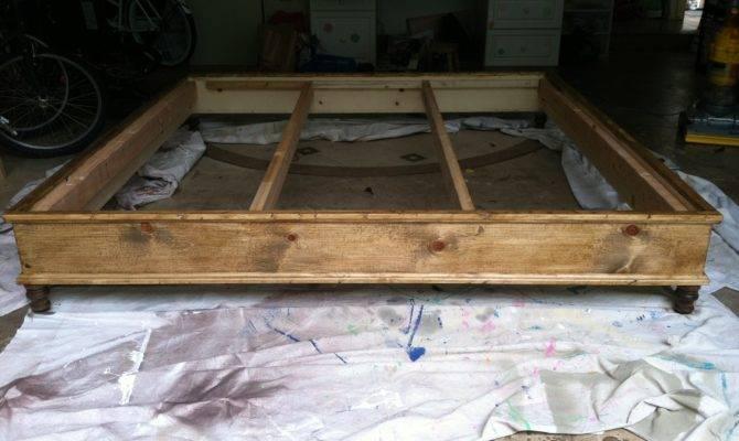 King Platform Bed Plans Diy Blueprints