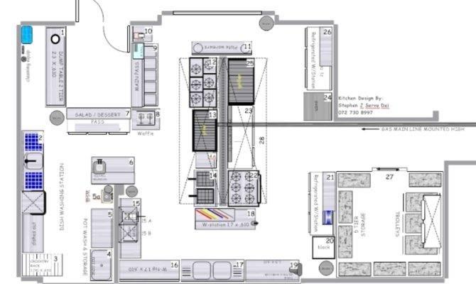 Kitchen Blueprint Kitchens Designs Blueprints Restaurant