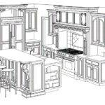 Kitchen Cabinet Drawing Need Know Before Installing