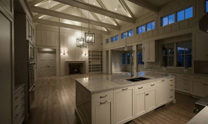Kitchen Cathedral Ceiling Contemporary Cameo Homes