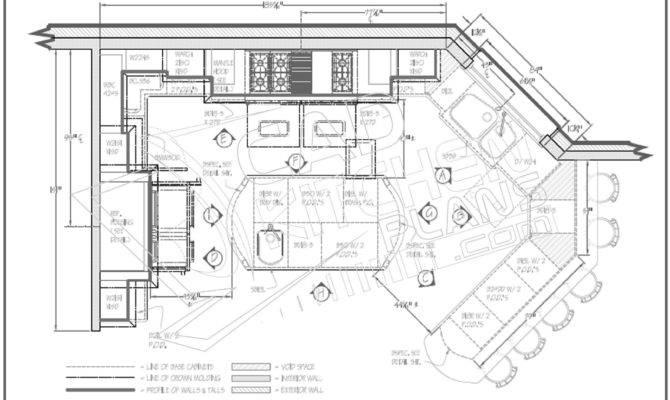 Stunning Kitchen Floor Plan 19 Photos House Plans