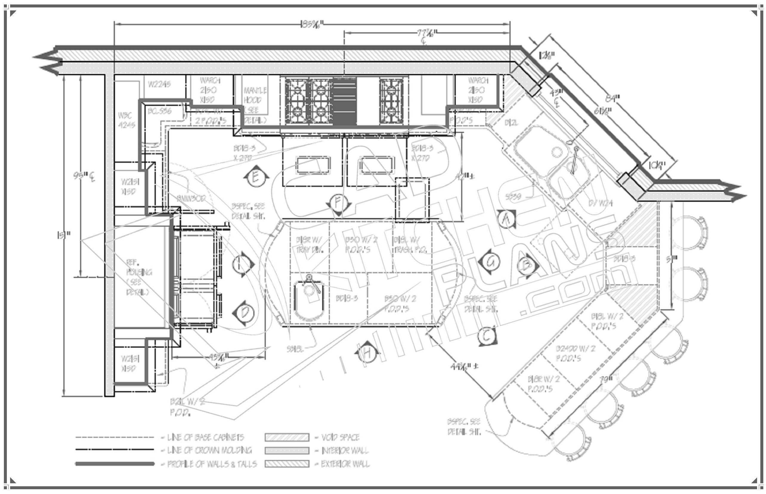 Kitchen Design Floorplans Ideas House Plans 1572