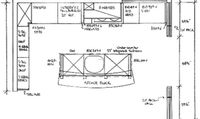 Kitchen Design Plans Floor