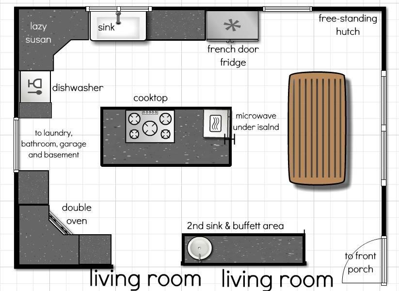 23 Amazing Plan Kitchen House Plans