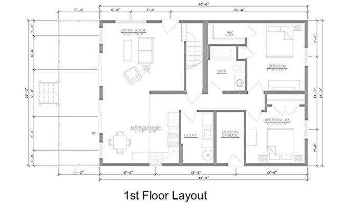 Kitchen Dining Living Room Layouts