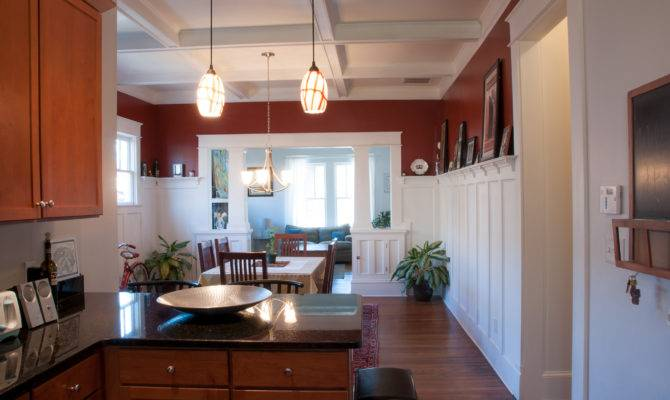 Kitchen Dining Room Living