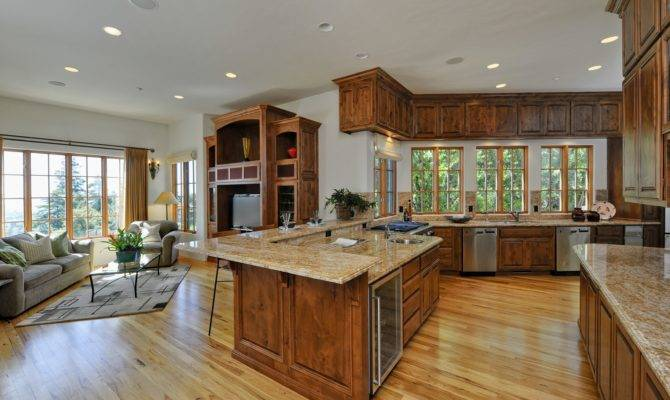 Kitchen Dining Room Open Floor Plan Home Design Ideas
