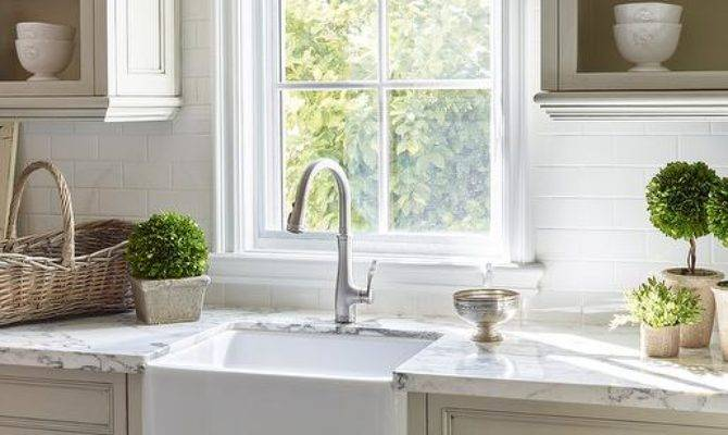 Kitchen Faucet Country French Ideas Double Bowl