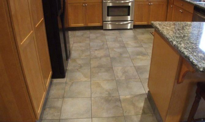 Kitchen Floor Tile Designs Perfect Warm