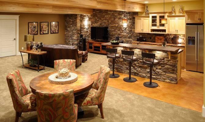 Kitchen Ideas Basement Bar