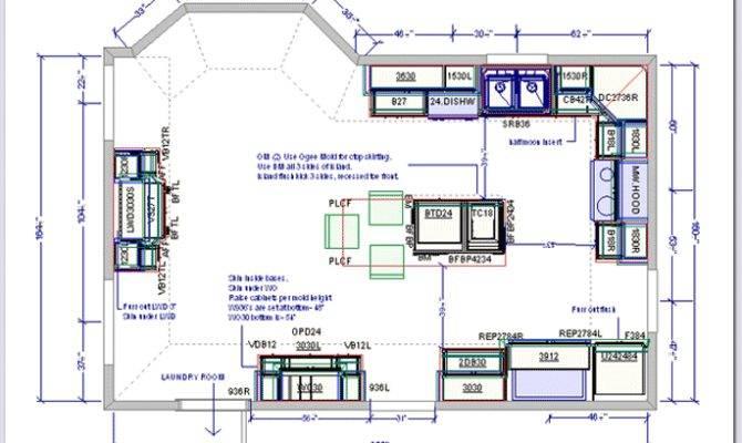 Kitchen Ideas Floor Plans
