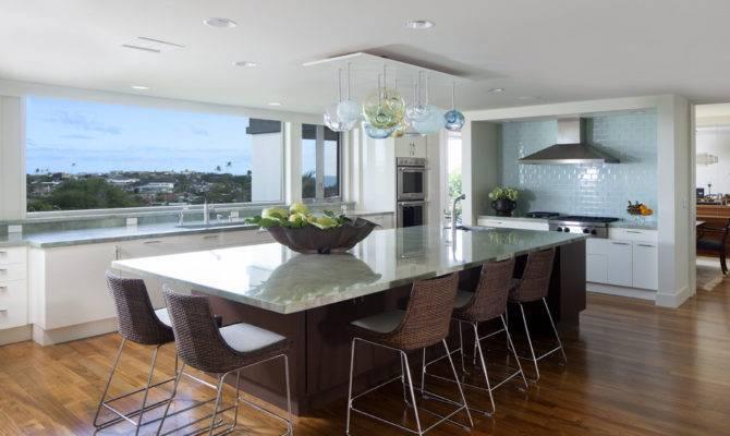 Kitchen Island Remodel Modern Big
