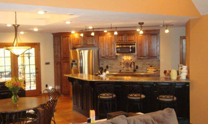 Kitchen Living Room Combined Layouts