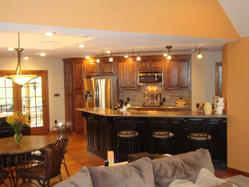 18 Amazing Kitchen Dining Living Room Layouts House Plans