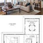Kitchen Living Room Combo Floor Plans Luxury Shaped Open