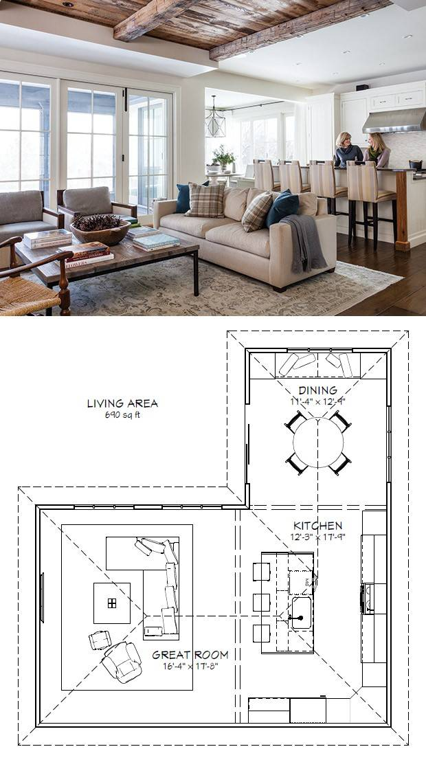 Floor Plan Living Room