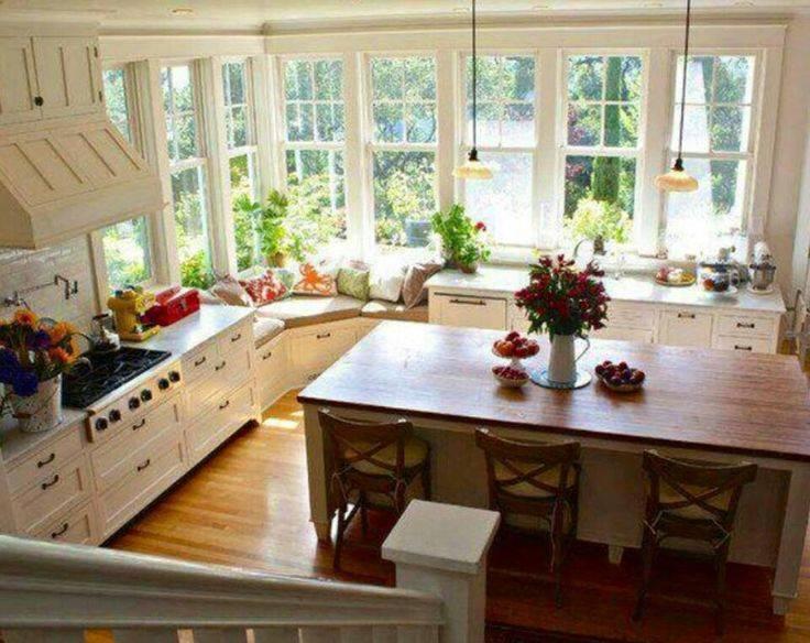 Kitchen Lot Windows Goodness Love House Plans 18885