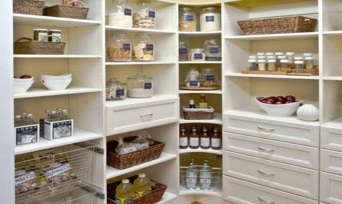 Kitchen Pantry Shelving Plans Design Ideas