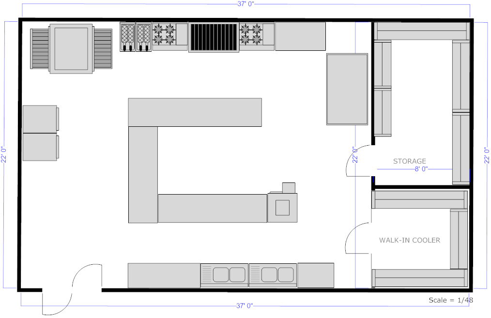 Kitchen Planning Software Easily Plan House Plans 17026